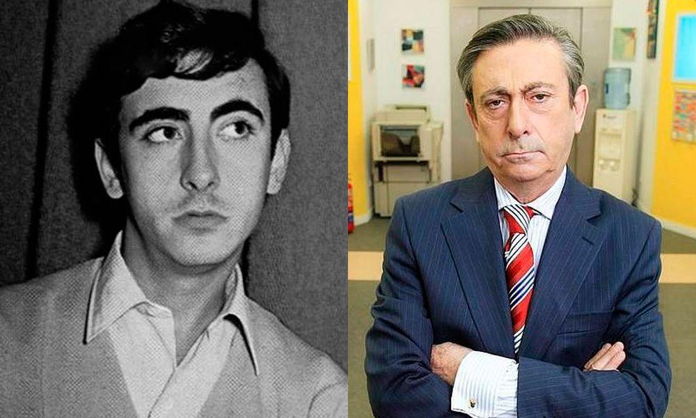 Luis Varela de joven