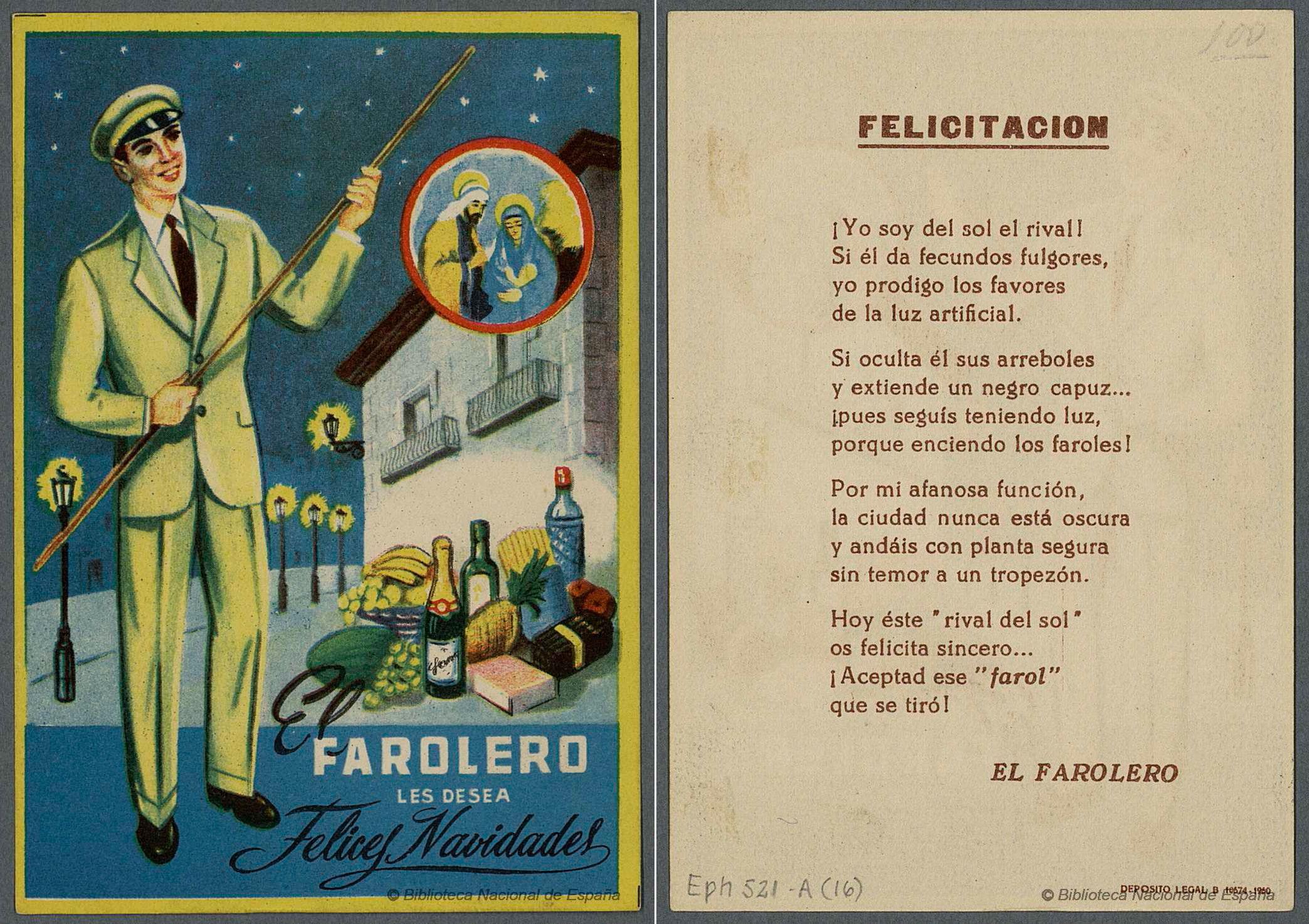 Felicitaciones Antiguas Navidad.Asi Eran Las Tarjetas Para Pedir Aguinaldo En Cada Profesion